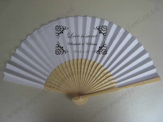 Personalized Custom Wedding Hand Fans