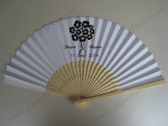 Wholesale Personalized Bamboo Hand Fans £0 74