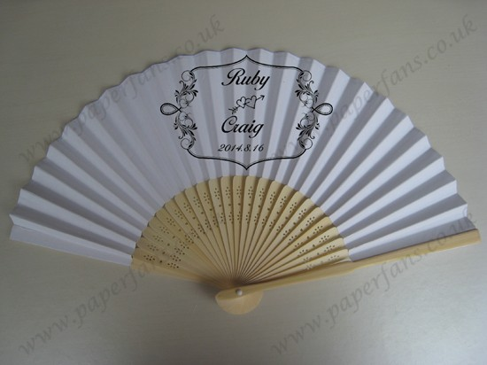 Personalized Wedding Favor Wedding Fans